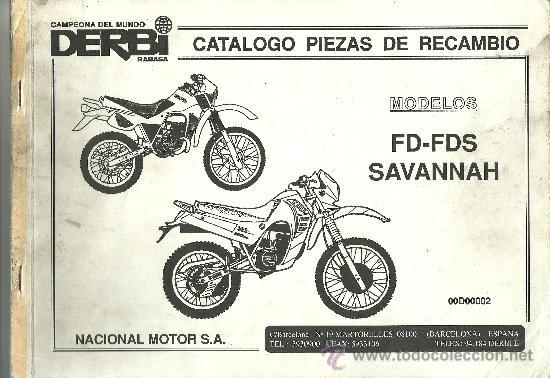 Derbi catalogo piezas de recambio modelos fd fd comprar for Catalogo derbi