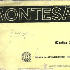 Coches y Motocicletas: MONTESA COTA 247 PERMANYER SA ESPLUGAS DE LLOBREGAT BARCELONA SOLO PARA MECANICOS ORIGINAL. Lote 19836199
