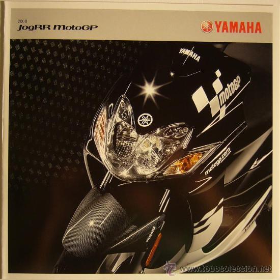 CATALOGO MOTO MOTOCICLETA YAMAHA JOGRR MOTOGP, 2008 (Coches y Motocicletas Antiguas y Clásicas - Catálogos, Publicidad y Libros de mecánica)