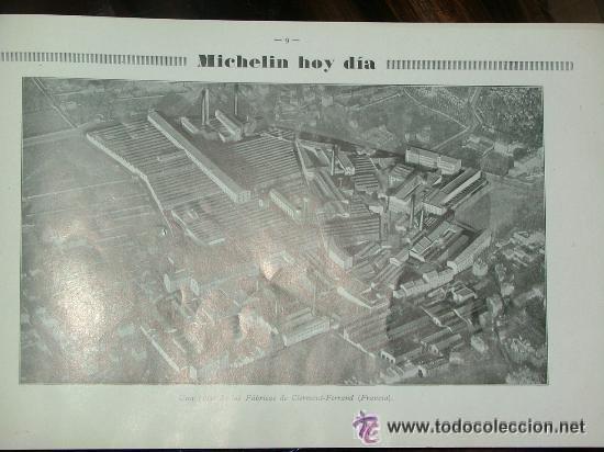 Coches y Motocicletas: CURIOSO LIBRO AÑOS 20-30 LA HISTORIA DEL NEUMATICO MICHELIN - Foto 3 - 25594451