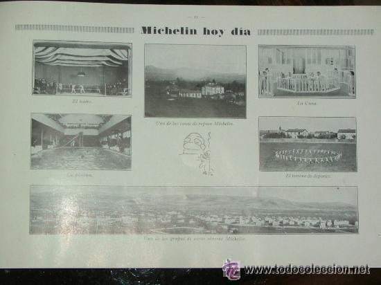 Coches y Motocicletas: CURIOSO LIBRO AÑOS 20-30 LA HISTORIA DEL NEUMATICO MICHELIN - Foto 4 - 25594451