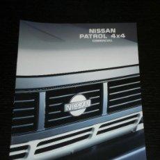 Coches y Motocicletas: NISSAN PATROL COMERCIAL - CATALOGO PUBLICIDAD ORIGINAL - 1992 - ESPAÑOL. Lote 20238560