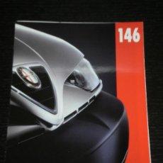 Coches y Motocicletas: ALFA ROMEO 146 - CATALOGO PUBLICIDAD ORIGINAL - ESPAÑOL. Lote 20359983