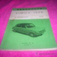 Coches y Motocicletas: REPARAUTO Nº 51 Y 52 , SIMCA 1200 , EDITORIAL ATIKA S.A.. Lote 37549336