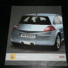 Coches y Motocicletas: RENAULT MEGANE GT - CATALOGO PUBLICIDAD ORIGINAL - 2006 - ESPAÑOL. Lote 20595959