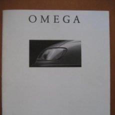 Coches y Motocicletas: OPEL OMEGA.CATALOGO ORIGINAL.AÑO 94. ESPAÑOL. Lote 20705223