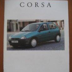 Coches y Motocicletas: OPEL CORSA.CATALOGO ORIGINAL.AÑO 94. ESPAÑOL. Lote 20705962