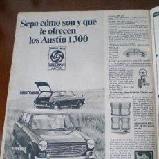 Coches y Motocicletas: ANUNCIO AUSTIN ORIGINAL 1971. Lote 26184008