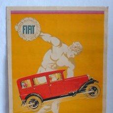 Coches y Motocicletas: CATALOGO FIAT, MANIFESTO ORIGINALE FIAT PER LA 525 DEL 1928, 1969, TUTTE LE ITALIANE, POSTER, 80 X 5. Lote 21965055