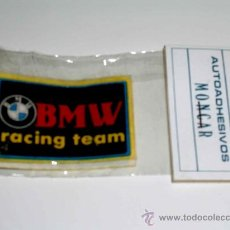 Coches y Motocicletas: 2 AUTOADHESIVOS MOTO BMW Y MV AUGUSTA PARA ADHERIR A LA ROPA CON PLANCHA, AÑOS 70-80.. Lote 24708062