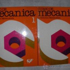Coches y Motocicletas: CURSO DE MECANICA (2 VOLUMENES). Lote 21504590