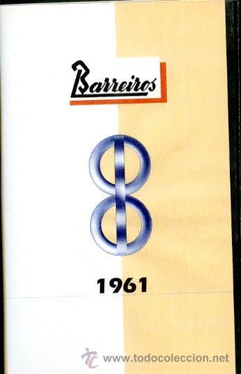 VIDEO BARREIROS 1961 VHS PELÍCULA DE LA FÁBRICA DE BARREIROS Y SUS TRABAJADORES EN AQUEL AÑO (Coches y Motocicletas Antiguas y Clásicas - Catálogos, Publicidad y Libros de mecánica)