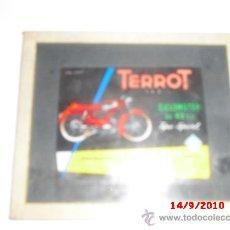 Coches y Motocicletas: HOLOGRAMA DE LA MARCA TERROT ¡LIQUIDACIÓN!. Lote 27164855