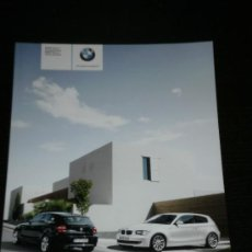 Coches y Motocicletas: BMW SERIE 1 3 PUERTAS Y 5 PUERTAS - CATALOGO PUBLICIDAD ORIGINAL - 2009 - ESPAÑOL. Lote 21932247