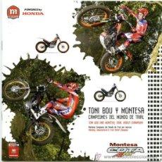 Coches y Motocicletas: HONDA MONTESA COTA 4RT- CATALOGO PUBLICIDAD ORIGINAL - ESPAÑOL E INGLÉS. Lote 25959899