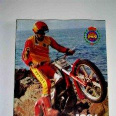Coches y Motocicletas: LIBRO CALENDARIO DEPORTIVO MOTOCICLISTA 1986, 313 PÁGINAS, CAMPEONATOS, CLUBS, SITO PONS, CARDUS.... Lote 23546891