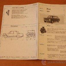 Coches y Motocicletas: FIAT SEAT 124. Lote 22721374