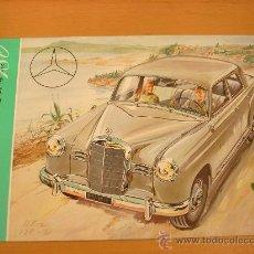 Coches y Motocicletas: MERCEDES BENZ 180 1953 CATALOGO ORIGINAL. Lote 22902879