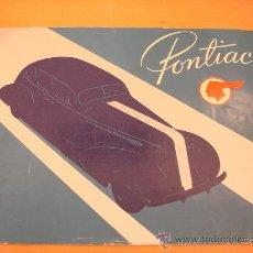 Coches y Motocicletas: PONTIAC 6 Y 8 CILINDROS CATALOGO ORIGINAL 1935. Lote 22906049