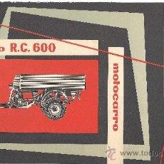 Coches y Motocicletas: ROA MOTOCARRO. Lote 23027743