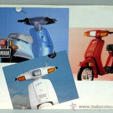 Coches y Motocicletas: CATÁLOGO FOLLETO YAMAHA MINT AÑOS 80 CON CARACTERÍSTICAS TÉCNICAS Y FOTOS EN FRANCÉS. Lote 23293254