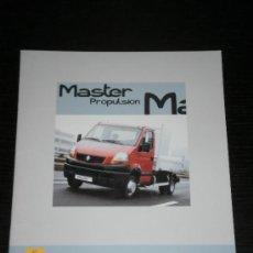 Coches y Motocicletas: RENAULT MASTER PROPULSION - CATALOGO PUBLICIDAD ORIGINAL - 2007 - ESPAÑOL. Lote 23301895