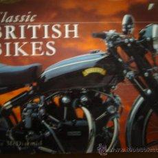 Coches y Motocicletas: LIBRO MOTOS INGLESAS CLASICAS CLASSIC BRITISH BIKES MAC MCDIARMID 1997.. Lote 23854539