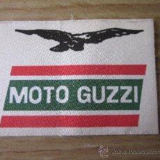 Coches y Motocicletas: PEGATINA DE MOTO GUZZI DE LOS AÑOS 70 - 80. Lote 23958531