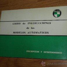 Coches y Motocicletas: PUCH LIBRO DE INSTRUCCIONES................................SANJUAN. Lote 23990534