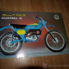 Coches y Motocicletas: BULTACO FRONTERA 74 / 125...........................................SANJUAN. Lote 223768687