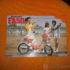 Coches y Motocicletas: CATALOGO SUZUKI FA50. Lote 27421432