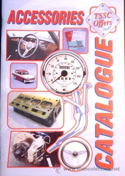 CATALOGO DE PIEZAS Y REPUESTOS (EN INGLES) DE CLÁSICOS TRIUMPH- EDITADO POR TRIUMPH SPORTS CLUB LTD (Coches y Motocicletas Antiguas y Clásicas - Catálogos, Publicidad y Libros de mecánica)
