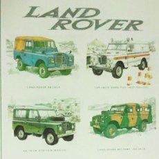 Coches y Motocicletas: LAND ROVER. Lote 27290920