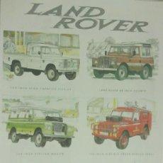 Coches y Motocicletas: LAND ROVER. Lote 33384045