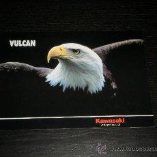 Coches y Motocicletas: KAWASAKI VULCAN 500 750 1500 - CATALOGO PUBLICIDAD ORIGINAL - ESPAÑOL. Lote 26034111