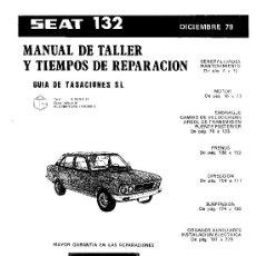 Manual de taller del Seat 132