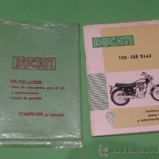 Coches y Motocicletas: INSTRUCCIONES PARA EL USO DUCATI 250-350 ROAD. Lote 27290509