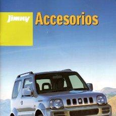 Coches y Motocicletas: SUZUKI JIMNY. CATÁLOGO DE ACCESORIOS. 2010.. Lote 27474952