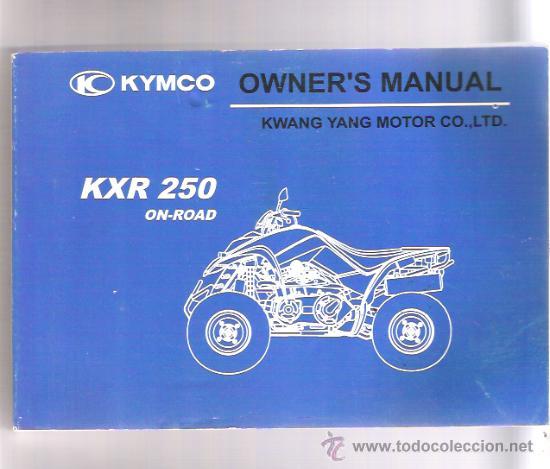 manual kymco kxr 250 espa ol