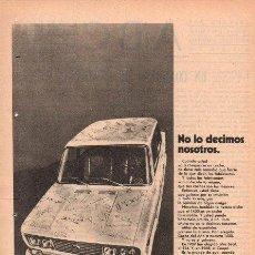 Coches y Motocicletas: PUBLICIDAD ANTIGUA. COCHES. SEAT 1430. 1970.. Lote 27773083