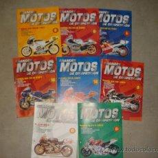 Coches y Motocicletas: LOTE 8 FASCICULOS GRANDES MOTOS DE COMPETICION ALTAYA. Lote 28124332