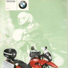 Coches y Motocicletas: CATÁLOGO EQUIPAMIENTO PARA MOTOS BMW SERIE F. Lote 28300200