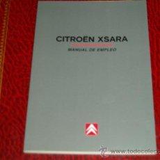 Coches y Motocicletas: CITROEN XSARA. MANUAL DE EMPLEO. Lote 36263075