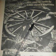 Coches y Motocicletas: LAND ROVER SANTANA, TODO ES POSIBLE.. Lote 28863285