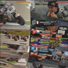 Coches y Motocicletas: COLECCION DE 45 FICHAS DE MOTOGP SUPERCARDS VER NUMEROS. Lote 28882611