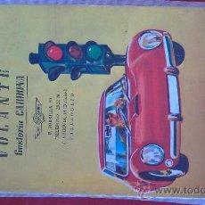 Coches y Motocicletas: PRECIOSO LIBRO DE AUTO ESCUELA(VOLANTE,VALLADOLID).1974. Lote 28917472