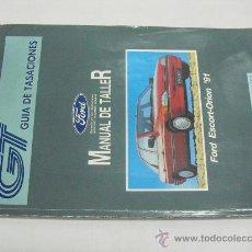 Coches y Motocicletas: MANUAL DE TALLER FORD ESCORT-ORION 1991. Lote 28934990