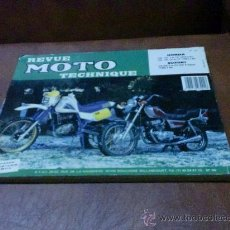 Coches y Motocicletas: LIBRO.-REVUE MOTO TECHNIQUE (HONDA CM 125 Y SUZUKI DR 600) ESCRITO EN FRANCÉS-VER FOTOS-. Lote 29086662