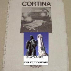 Coches y Motocicletas: FORD CORTINA MKIII MK3 (1970 - 1976) - PRE - SALES PRODUCT TRAINING BOOK 1970 - INGLÉS. Lote 29162266