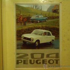 Coches y Motocicletas: CATALOGO PEUGEOT 204 FRANCE 6 PÁGINAS 1976. Lote 29489177